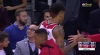 Kelly Oubre Jr. knocks it down as the clock expires