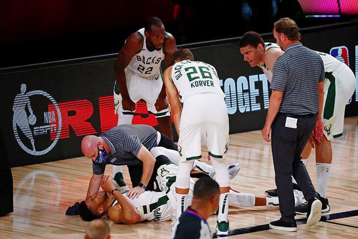«Милуоки» потерял Янниса из-за травмы, но избежал позора. Серия против «Майами» (пока 1-3) продолжается!