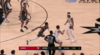 Damian Jones goes up to get it and finishes the oop