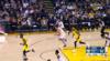 Jordan Bell sends the shot away