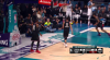 Blake Griffin flies in for the alley-oop slam