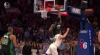 Jaylen Brown hits the shot with time ticking down