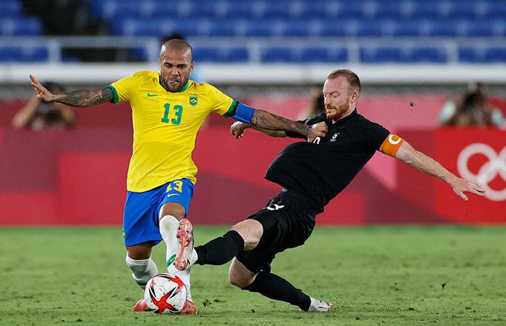Германия Кунтца и Бразилия повторили финал Рио-2016 уже на старте: у Ришарлисона хет-трик, немцев не хватило на камбэк (2:4)