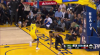 Giannis Antetokounmpo with one of the day's best dunks