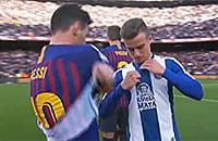 Барселона, Эспаньол, Лионель Месси, Ла Лига, болельщики, фото, Адриа Педроса