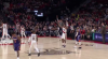 CJ McCollum sinks the shot at the buzzer