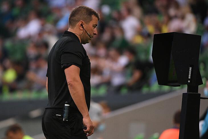 «Рубин» требует переигровку с «Краснодаром»: Вилков обратился к ВАР и поставил пенальти, когда уже нельзя было