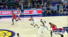 Myles Turner Blocks in Indiana Pacers vs. Chicago Bulls