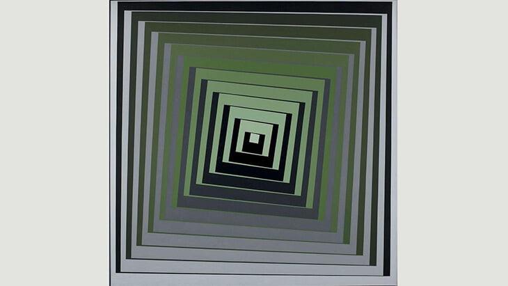 Видели форму «Челси» с оптическими иллюзиями? Мы нашли в ней отсылки к лондонской художнице (рекордная цена работ – 4,3 млн фунтов)