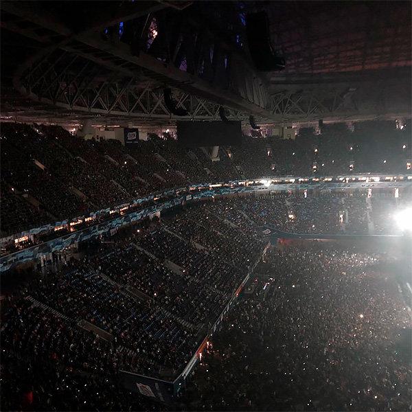 Наконцерт вПетербурге пришло 65 тыс. наблюдателей — «Ленинград» побил рекорд