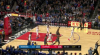Klay Thompson hits from way downtown