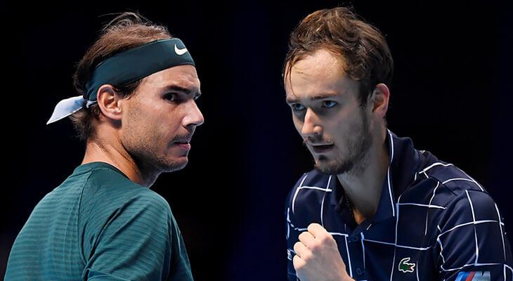 Медведев бьется с Надалем за финал итогового турнира ATP. Онлайн