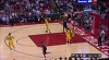 Clint Capela flies in for the alley-oop slam