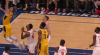 Domantas Sabonis with 10 Points in the 3rd Quarter vs. New York Knicks