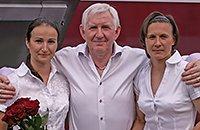 Иван Саенко, женский футбол