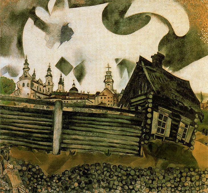 Чалов-старший влюблен в живопись. Задумал ребрендинг своего «Витебска» в стиле супрематизм и подружил клуб с училищем Малевича и Шагала