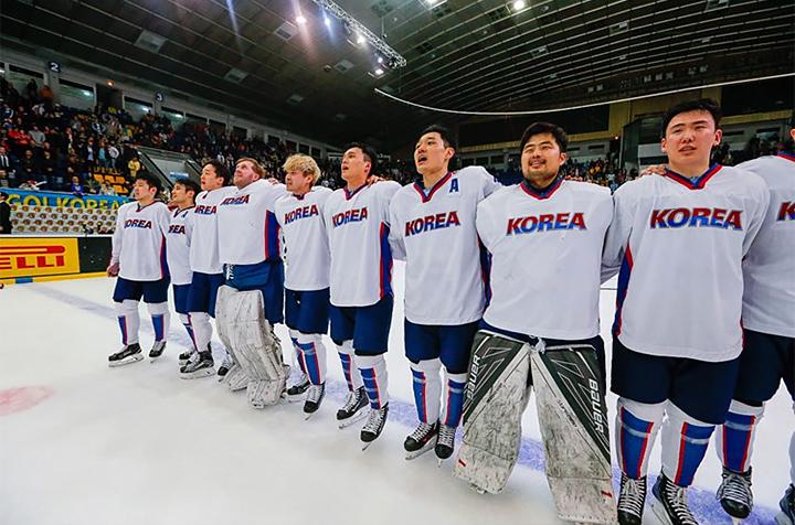 чемпионат мира, сборная Южной Кореи, ЧМ-2017 (первый дивизион), Ричард Парк, олимпийский хоккейный турнир, ЧМ-2018, Пхенчхан-2018, Алекс Плант, Мэтт Дэлтон