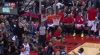 Terrence Ross rises to block the shot