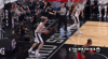 Kawhi Leonard with the big dunk