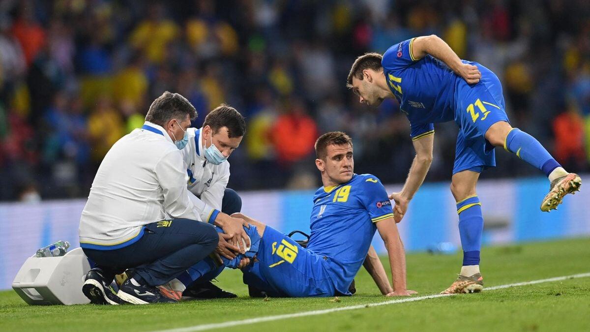 Даниэльссон извинился перед Бесединым после матча Швеция  Украина: Я не хотел навредить. Надеюсь, он быстро восстановится