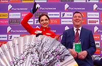 Евгения Медведева, сборная России, Брайан Орсер, Гран-приРоссии, Гран-при, женское катание