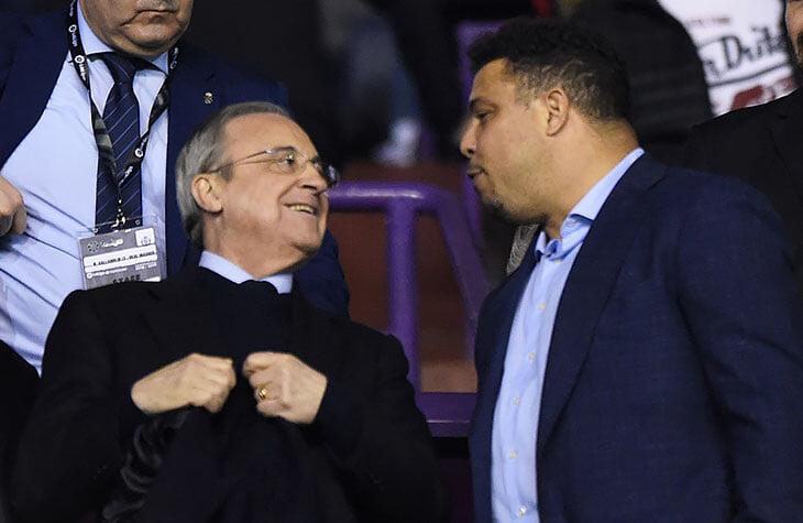 Клуб Роналдо может помочь «Реалу» с титулом. Было бы красиво: Перес – кумир и вдохновитель бразильца