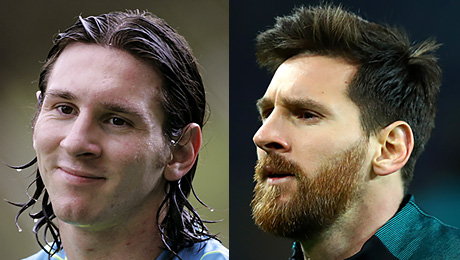 Месси, Рамос и еще 10 футболистов, которые очень изменились