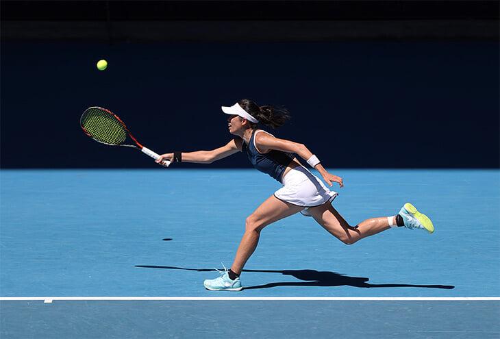 Теннисная волшебница Су-Вэй Се в 35 впервые вышла в 1/4 финала «Шлема». Она ломает соперницам мозги и приводит в восторг зрителей