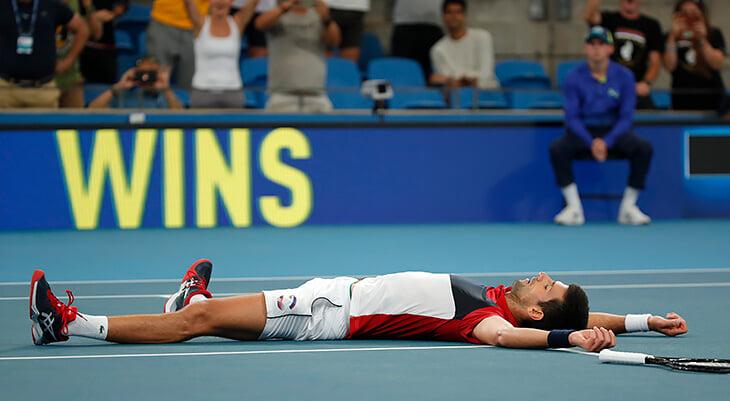 Два часа тенниса с другой планеты!