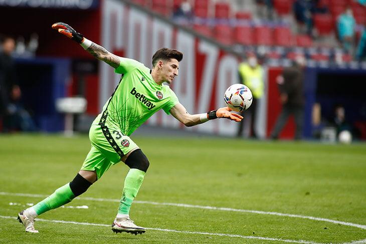 Молодой вратарь «Леванте» остановил «Атлетико»: сделал 10 сэйвов и признался, что мечтает о чемпионстве «Реала»
