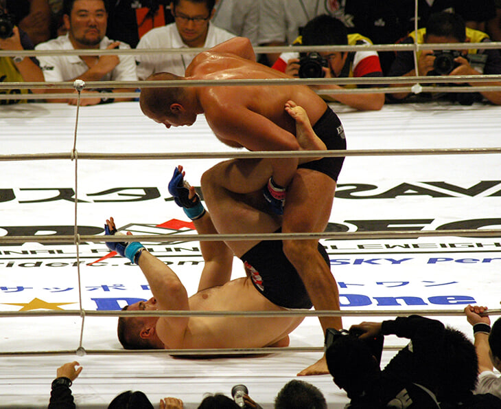 Первый итальянец, который может стать чемпионом UFC. Вдохновлялся Емельяненко, почти побеждал Адесанью, работал вышибалой