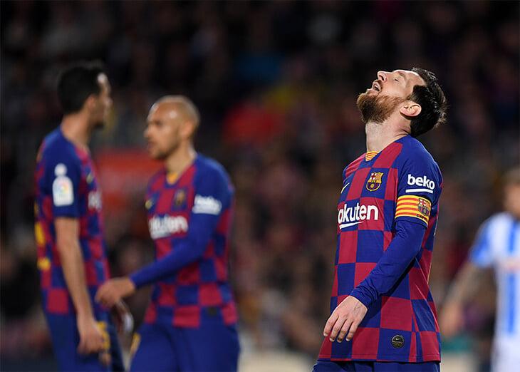 Кажется, в «Барселоне» новый раскол: не все игроки согласны на понижение зарплаты на 70%