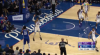Joel Embiid rises up and throws it down
