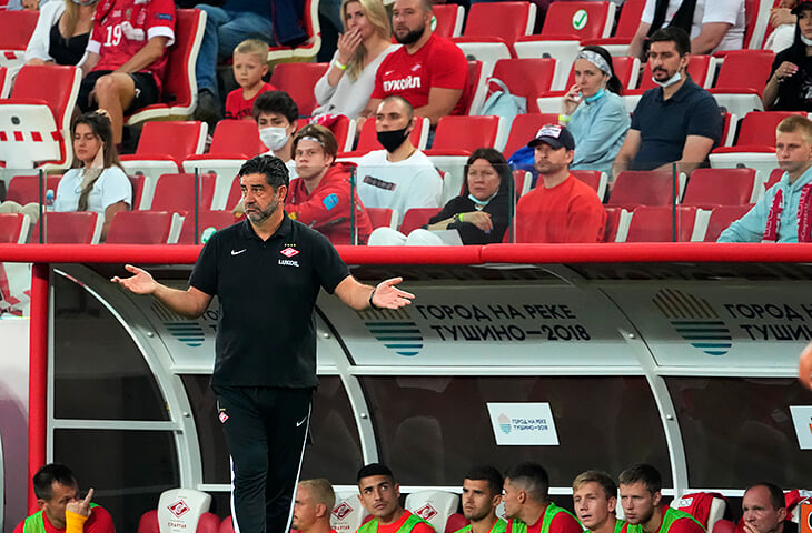 «Ситуация вокруг клуба ненормальная, но внутри команды проблем нет». Монолог Витории после поражения «Спартака»