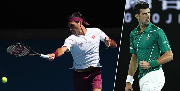 Джокович – в 8-м финале Australian Open. Федерер сделал их матч неожиданно напряженным, но Новак слишком силен