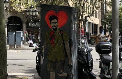 болельщики, Ла Лига, Камп Ноу, Лионель Месси, Барселона