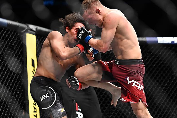 Петр Ян выносит UFC. Как же он хорош!