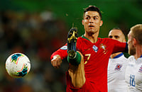 Сборная Португалии по футболу, Криштиану Роналду