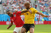 Бельгия и Англия рубятся за третье место. Пока 1:0