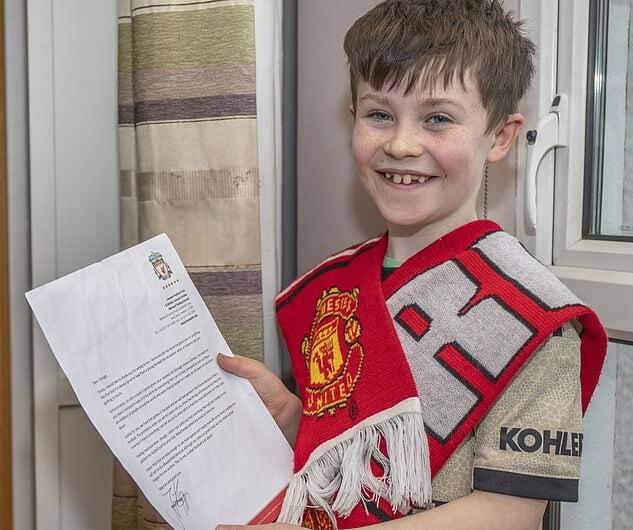 Yurgen Klopp 10 yaşlı fanatın məktubuna cavab verdi: