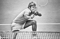Артур Эш, Витас Герулайтис, Крис Эверт, Джимми Коннорс, WTA, ATP, US Open, фото, Роджер Федерер, Винус Уильямс, Серена Уильямс