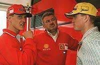 Михаэль Шумахер, Дэймон Хилл, Гран-при Бельгии, Ральф Шумахер, Эдди Джордан, Джордан, Формула-1, Спа-Франкоршам