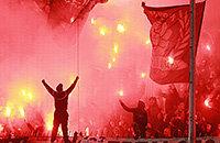 Спартак, Лига чемпионов УЕФА, болельщики, ПАОК, высшая лига Греция, фото, Герман Чистяков