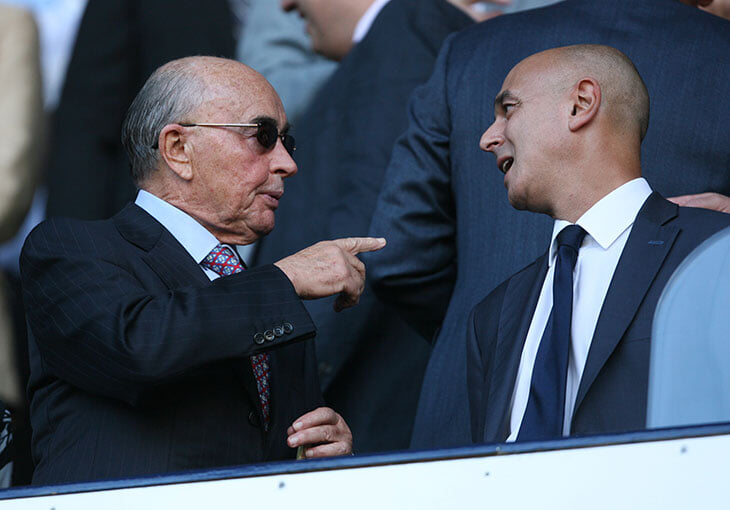 Леви – не владелец «Тоттенхэма». Реальный собственник купил клуб на деньги от «величайшего ограбления Банка Англии»