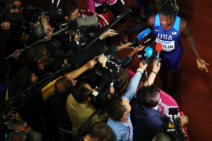 Роберт Вагнер, Деннис Митчелл, World Athletics (IAAF), WADA, USADA, Джастин Гэтлин, допинг, бег