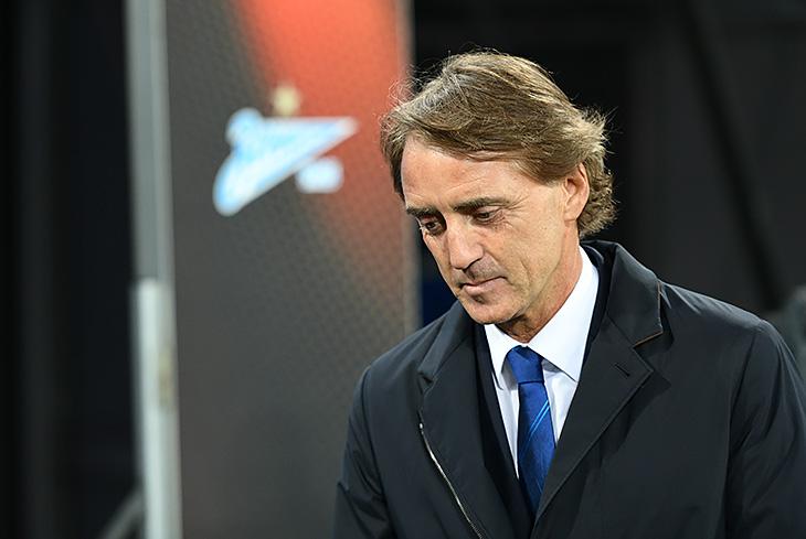 Тренер «Зенита» Манчини: вматче с«Анжи» недооценки конкурента небыло