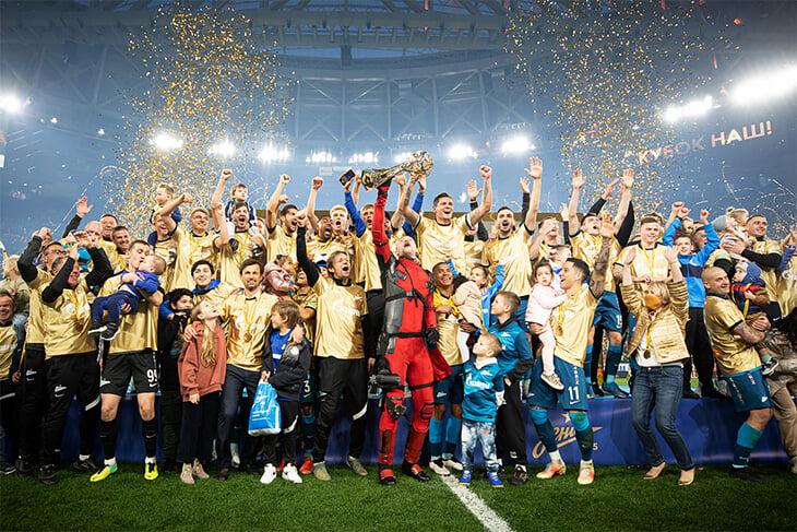 В Европе уже 14 чемпионов: «Зенит», «Интер», «Аякс», «Рейнджерс» –только начало