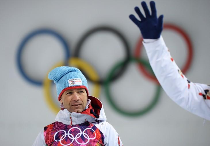 Бьорндален невыполнил критерии отбора наОлимпиаду