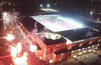 Лига чемпионов, высшая лига Дания, Копенгаген, болельщики