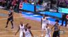 Serge Ibaka rises to block the shot